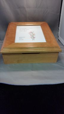 Custom Made Wedding Invitation Keepsake Box