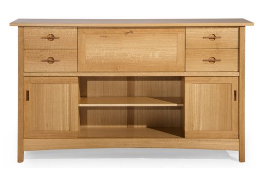 Custom Made Quartersawn White Oak Sideboard