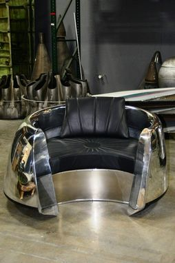 Custom Made Aircraft Cowling Chair