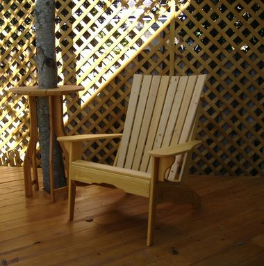 Custom Made Cypress Chair White Hall