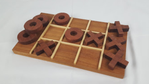 Custom Made Tic Tac Toe In Hardwood