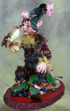 "Custom Made Ooak Art Doll "" The Forest  Elf"""