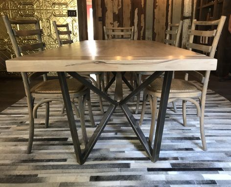 Custom Made Butterfly Dining Table
