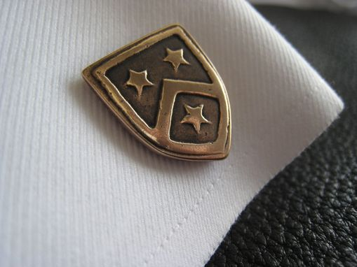 Custom Made Custom Designed Cufflinks With Family Crest