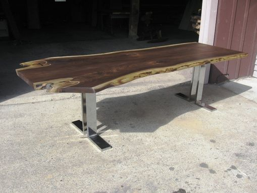 Custom Made Trees To Slab Tables