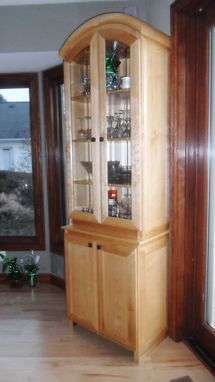 Custom Made Custom China Cabinet