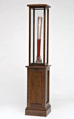 Custom Made Display Cabinet For 2008 Olympic Torch