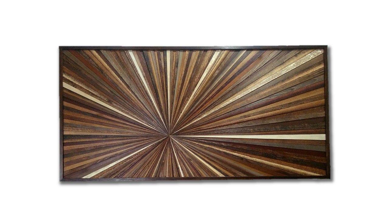 Hand Made Reclaimed Wood Wall Art Custom Made Wood ...
