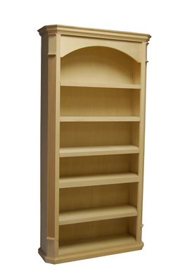 Custom Made Pilaster Bookcases