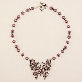 Custom Made Fly By Night Necklace