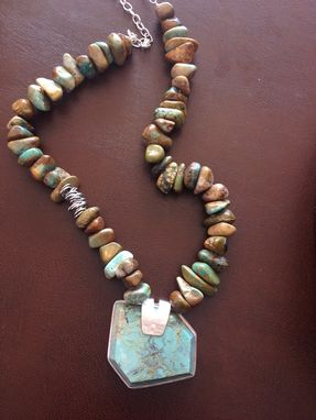 Custom Made Organic Turquoise Necklace