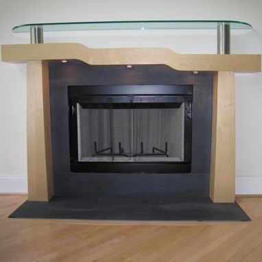 Custom Made Fireplace Mantles And Surrounds