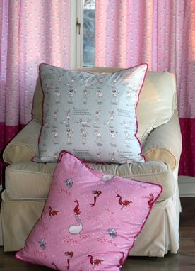 Custom Made Sarah Jane Out To Sea Mermaid Play Designer Pillow Cover Euro Sham 26 X 26 Girl Bedroom