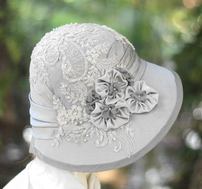 Custom Made 1920s Vintage Edwardian Downton Abbey Formal Sun Summer Hat
