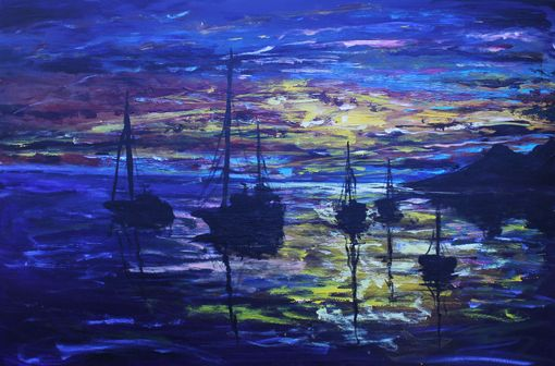 Custom Made Made To Order Pallet Knife Paintings