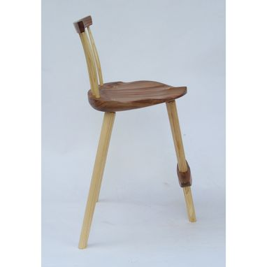 Custom Made Solid Wood Stool