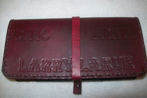 Custom Made Leather Checkbook Covers