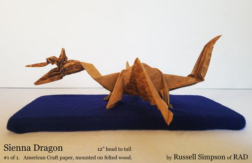 Custom Made Origami Dragon