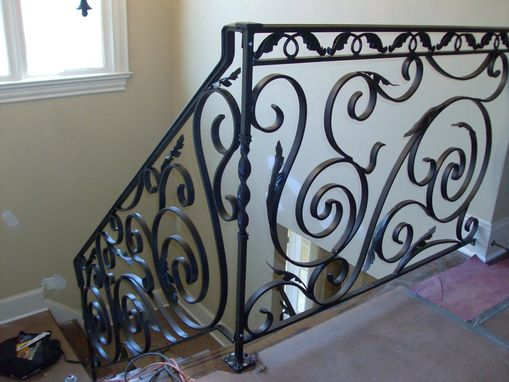 Custom Made Freestyle Railing