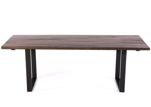 Custom Made The Maddox Reclaimed Wood Dining Table - Dark Walnut