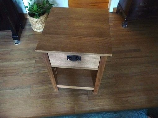 Custom Made Mission Style End Table