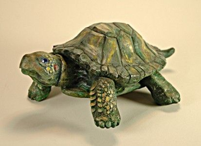 Custom Made A Gift For A Loved One Of A Turtle Walking