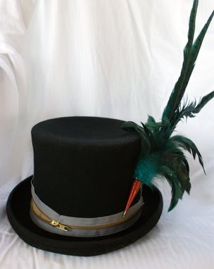 Custom Made Decorated Felt Top Hat
