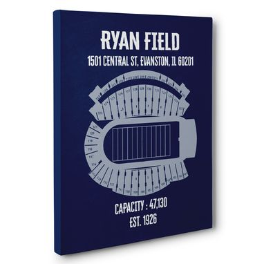 Custom Made Ryan Field Canvas Wall Art – Multiple Colors