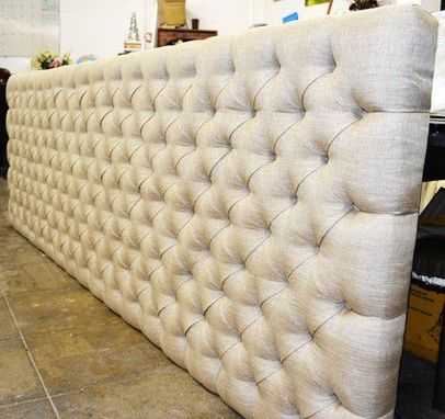 Hand Crafted Custom Made Tufted Wall Panel By Love At Home