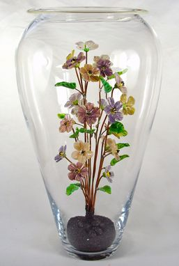 Custom Made Large Floral Bouquet Vase