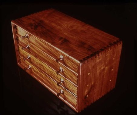 Custom Made Silverware Cabinet-See Www.Marklevin.Com For More Info And Current Pricing