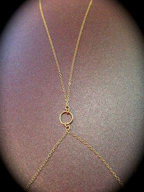 Custom Made Body Chain-14k Gold-Filled Chain