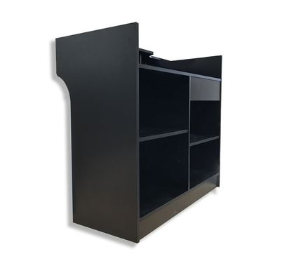Custom Made Jet Black Sales Counter