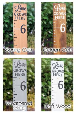 Custom Made Growth Chart