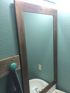 Custom Made Reclaimed Mirror