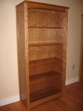 Custom Made Arts And Crafts Cherry Bookcase
