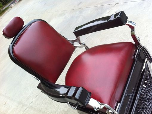 Custom Made 1920'S Koken Barber Chair Restoration