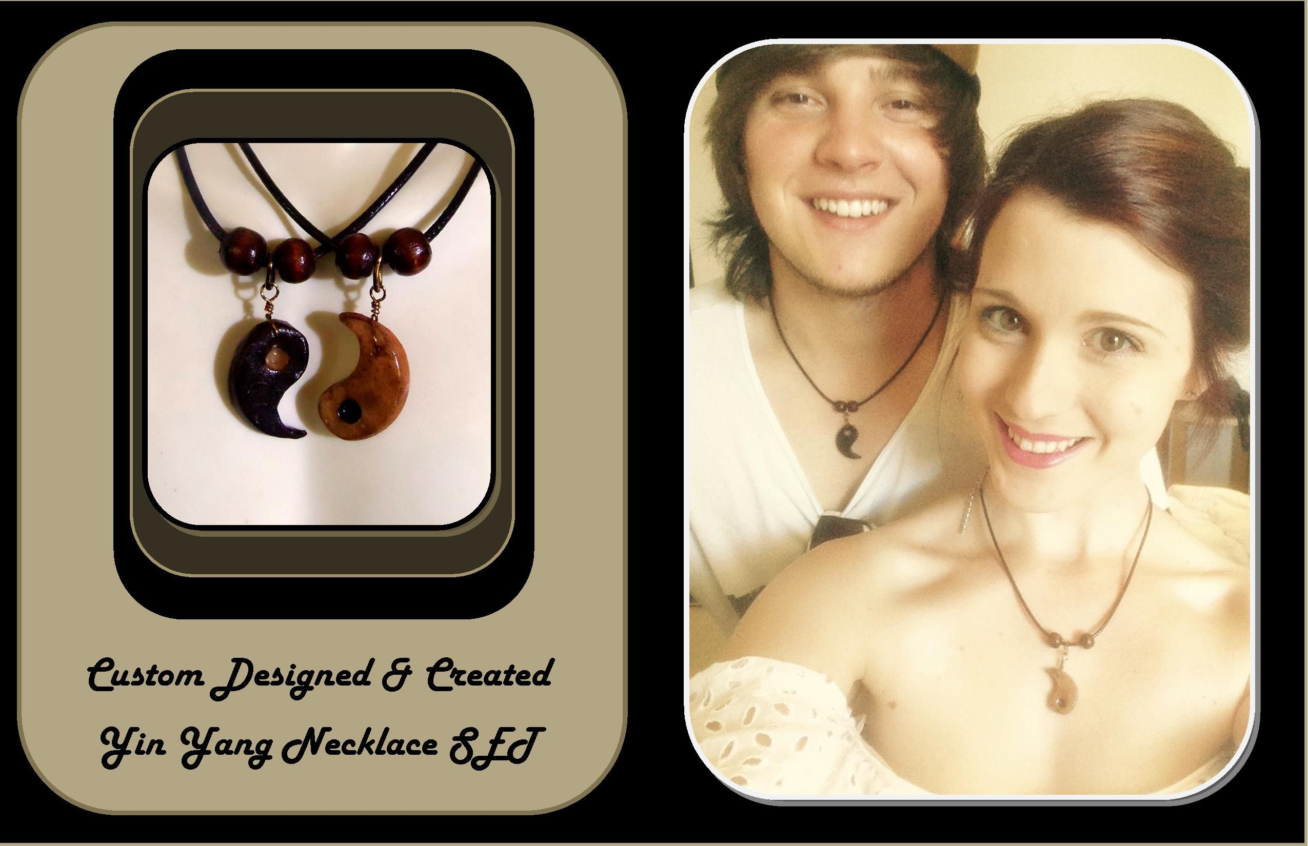 Buy A Handmade His Hers Jewelrycouples Jewelrymens Giftsyin Yang