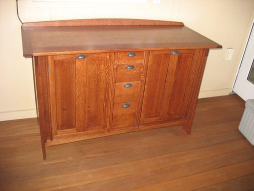 Custom Made Arts & Crafts Sideboard
