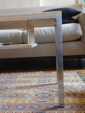 Handmade Skinny Coffee Table by CollabCustomMadecom