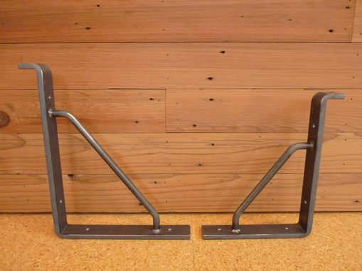 Custom Made Heavy Duty Steel Shelf Bracket