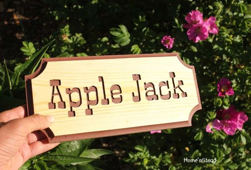 Custom Made Engraved Wood Stall/Name Plaque For Pet, Dog, Horse