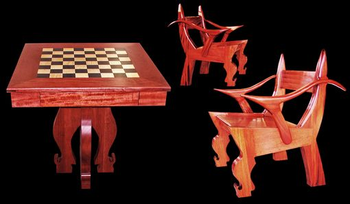 Custom Made Custom Chess Tables