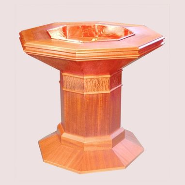 Custom Made University Presbyterian Baptismal Font