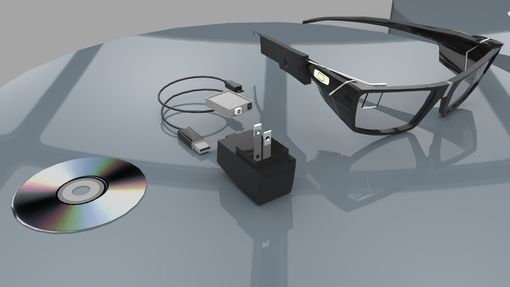Custom Made 3d Virtual Glasses , Concept