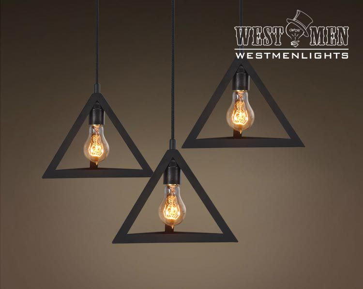 vintage industrial lighting fixtures. Plain Vintage Buy A Custom Made Westmenlights Vintage Industrial Rustic Triangle Pendant  Light Fixture Hanging Edison Shadow Lamp Made To Order From Westmenlightsinc And Lighting Fixtures I