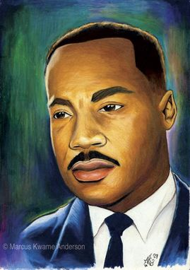 Custom Made Martin Luther King Injustice Archival Print
