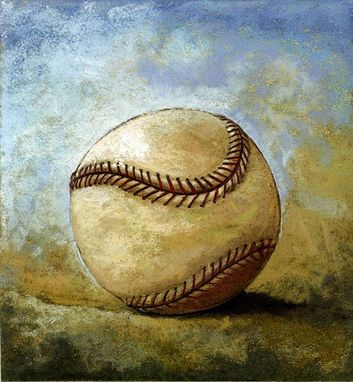 Custom Made Limited Edition Baseball Prints: Baseball