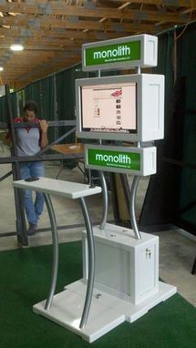 Custom Made Monolith Solar Internet Station