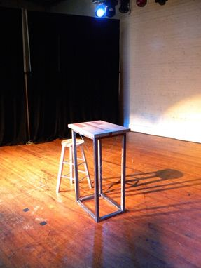 Custom Made Lectern Table And Stool